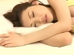 Japanese girl fucked while sleeping