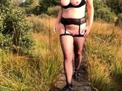 Milf Nude Walk and Flashing in Belgium