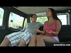 Asa Akira Rides The BangBus Rea ... free