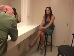 Gracie Glam footjob!