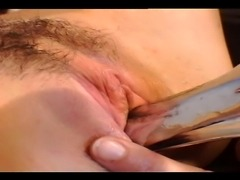 To naughty redheads play with each other's pussies using cold toys for maximum pleasure.