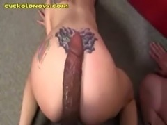 White Cuckold Can Only Kiss His ... free