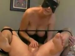 Handjob with Prostate massage and creamy Cumshot - Minha mulher batendo punheta