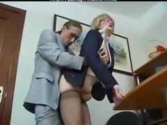 Granny Secretary Getting Fucked mature mature porn granny old cumshots cumshot