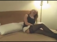A sexy white whore wife gets her mouth and cunt used by three big black cocks one day while her cuckold husband films them. He waits his turn like a good cuck while they breed his slutty wife. Enjoy!