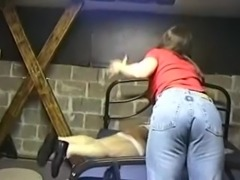 Busty Chick Spanking Naughty Cd