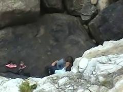 Hidden in the rocks