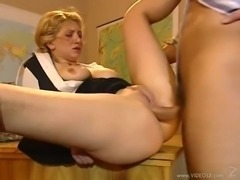 cathy blonde anal