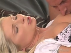 MOM Blonde MILF makes love to her man free