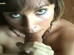Lovely and gorgeous babe Susan is very eager for some cock sucking action and thats exactly what she is doing right now in this awesome P.O.V. scene with a very big cock in her mouth.