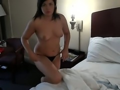 Bruno is someone who clearly knows how to hook broke little bitches like Lillie Warner. Watch him bribe this sexy curvaceous amateur into giving him a blowjob on camera!