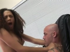 Sexual and very seductive brunette curly girl Mimi Allen is having unforgettable pounding with her new boyfriend in this xxx scene. See girl sucking and bounding on penis.
