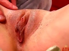 Miss Dallas just woke up, but she is always ready to get the cock anywhere where you want. She has beautiful round asshole, sensitive plump pussy and wet gentle mouth.