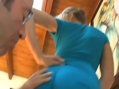 Sexy Kara Price is giving stud a hard on as she seduces with her smoking hot bottoms