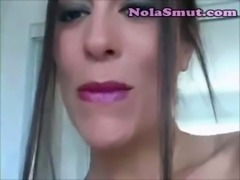 Sexy Girl Exploited Lipstick Fetish