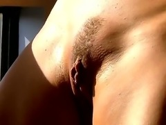 Unforgettable masturbation from seductive blonde cutie would make you feel...