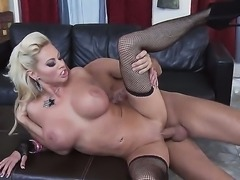 Keiran Lee scores seductive milf Nikita Von James, and she shows him a perfect hardcore exercise