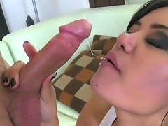 Watch this perfect little brunette whore