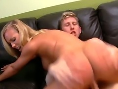Busty chick fucking the lucky guy