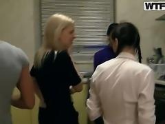 Celebrating exams with the hottest college whores Elizabeth, Kamila, Marya, Sveta and Tanata