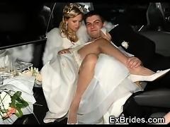 Real Hot Amateur Brides!