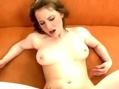 Horny Elindi has white pussy and great desire to fuck big black cock. Today she has this unforgettable opportunity and she enjoys fucking with sweet dick and also suck it