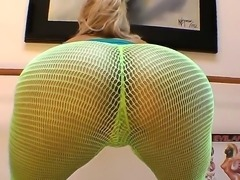 Kelly Divine knows exactly that some specific cloth may make your ass look sexier and more beautiful thats why she is wearing this tight pants and showing her horny and dirty ass.