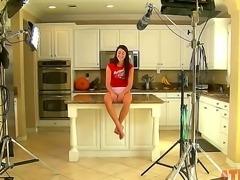 Enjoy the nterview in the kitchen