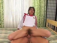 J J likes it hairy and