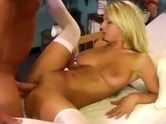 Sammie Rhodes is a hot nurse with great bedside manner.s