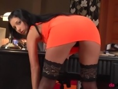 Italian girl next door girl masturbate her young pussy naked