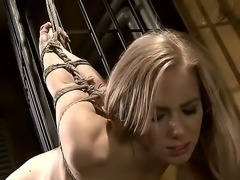 Nesty needed to be taught a lesson for being such a lusty slut by sexy mistress Mandy Bright