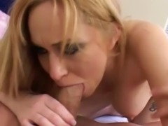 sexy hot Big Tits Blonde Babe Rides a big cock