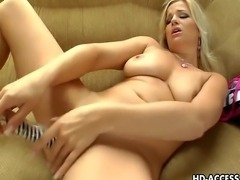 If you like really hot and sexy busty chicks, this babe Luciana will definitely please you in every way. Just come and watch this really fine looking chick here in some of the most insane action.