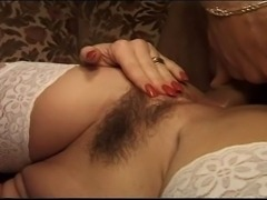 Good looking blonde with nice round tits and ass anally fucked and creampied