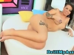 Busty Anal Licking and Blow job Big Penis Hardcore Christy Mack