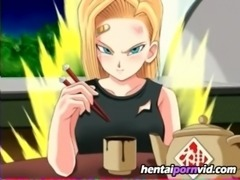 Hentai animation Dragon Ball Z sexiest heroines free