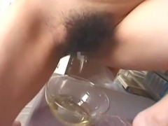 Piss & Puke:  Japanese cutie Kasumi morino in this piss fetish video where she drinks a large bowl full of piss, pukes it back up and drinks it again, not for the soft stomached...