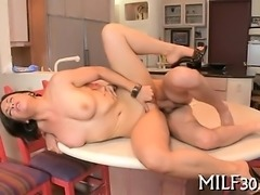 Milf give wild cock riding