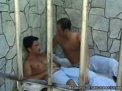 Muscle Men Cellmates