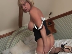 Sexy British mature pornstar Jane Bond gets off with her favourite vibrator in this great shoot for sexyukpornstars.com