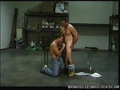 After Work Bodybuilder Sex