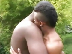 """Muscular Guys Having Outdoor Sex"""