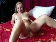 Real paid european prozzie sucking cock and fingered by amateur