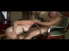 RUSSIAN GRANNY FUCKED BY HARD COCK