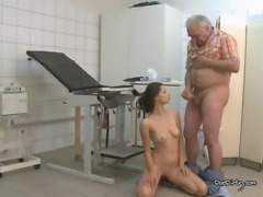 A hot patient like Petra deserves to have her face soaked in hot sticky cum