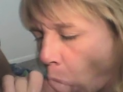 Dirty Blonde Crack Whore Sucking Dick And Takes Facial