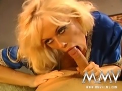 German super star Kelly Trump gets her lovely ass fucked by a huge dick before he shoots cum all over her slut face!