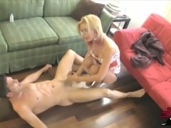 """Vanessa Vixon is a professional Castratrix and she has been hired to remove Lance's balls because he is a chronic masturbating pervert...  She shows up to his apartment and walks in on him jerking off. """"Oh don't stop..."""" she says, she loves exploiting men for their perversions, and she loves being the last woman to ever turn them on before she removes their manhood.  Vanessa orders him to keep stroking his cock, no matter what she does, then kicks him hard in the nuts, dropping him to the ground. She giggles, grabs his balls, squeezes hard and tells him to keep stroking...  She smothers his face with her ass, slaps and squeezes his balls, drives her heel into them, and does not let him stop stroking, until she leaves him on the ground, still stroking his cock in agony. """"You are not allowed to cum, but you have to keep your self on edge until I return...""""  to be continued...  Emasculation TALK, BALL SLAPPING, BALLS SQUEEZING, JERK OFF INSTRUCTION, FACE SITTING, SHINY PANTYHOSE, HIGH HEELS, BIG TITS, GIGGLING, TEASING, ORGASM CONTROL"""