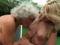 Old vs Teen Lesbian Sex Compilation